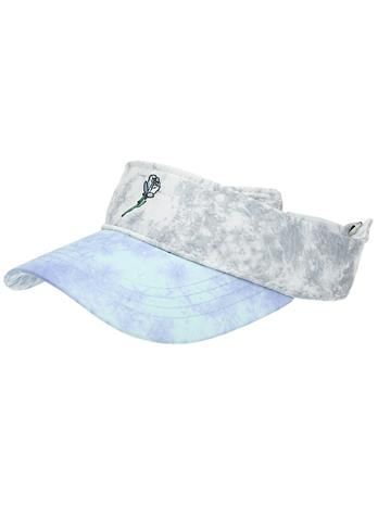 A.Lab Dia Tie Dye Visor Cap black / blue Naiset