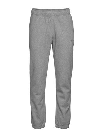 Champion Elastic Cuff Pants Collegehousut Olohousut Harmaa Champion GRAY MELANGE LIGHT