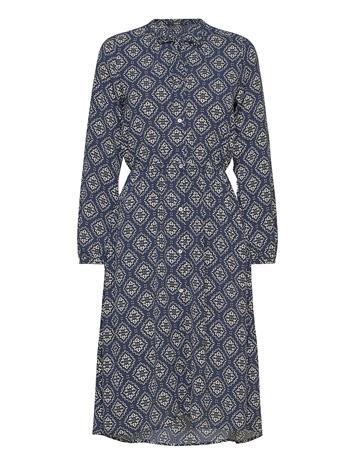 ONLY Onlnova Lux Miranda Dress Aop Wvn 10 Lyhyt Mekko Sininen ONLY NIGHT SKY