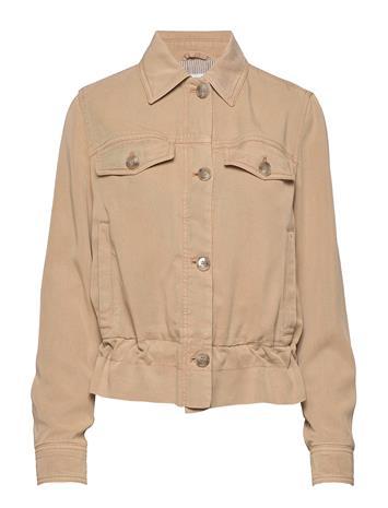BOSS Opeony-D Outerwear Jackets Utility Jackets Beige BOSS MEDIUM BEIGE