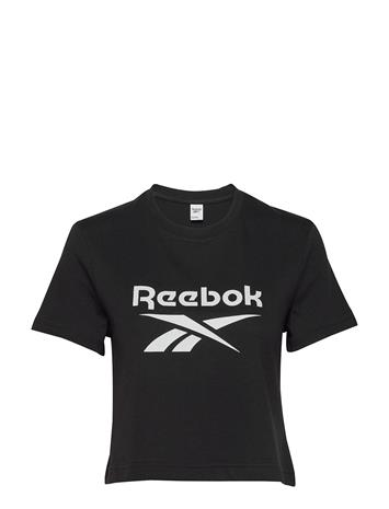 Reebok Classics Cl F Big Logo Tee Lyhythihainen Paita Musta Reebok Classics BLACK