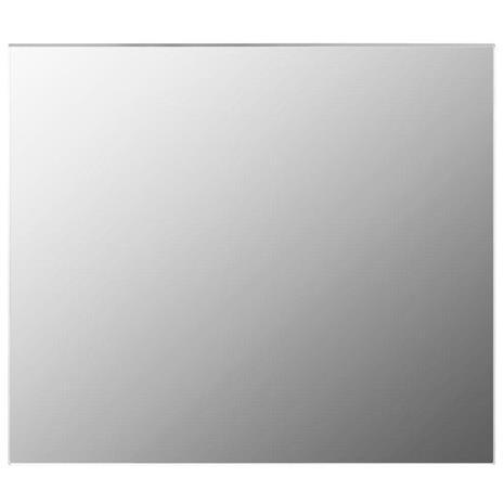 vidaXL Kehyksetön peili 80x60 cm lasi
