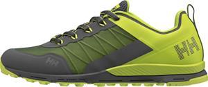 Helly Hansen Varde Trail Shoes Men, charcoal/azid lime/ebony/light green