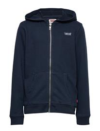 Levi's Washed Zip Up Hoodie Huppari Sininen Levi's DRESS BLUES