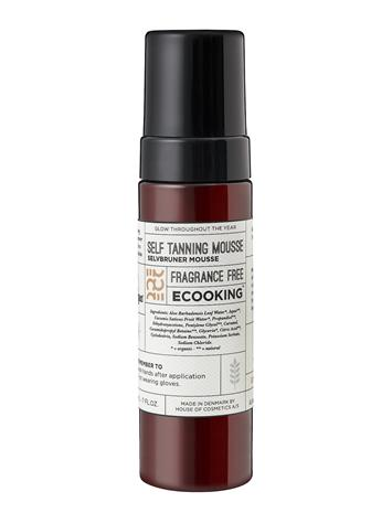 Ecooking Ecooking Self Tanning Mousse Beauty MEN Skin Care Tanning Ecooking NO COLOUR