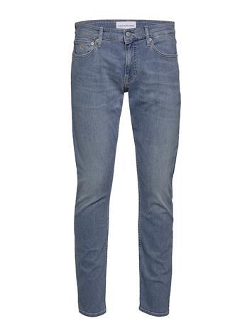 Calvin Klein Jeans Ckj 026 Slim Tiukat Farkut Sininen Calvin Klein Jeans AB025 LIGHT BLUE