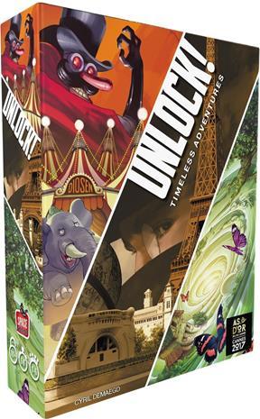 Unlock! Timeless Adventures Lautapeli
