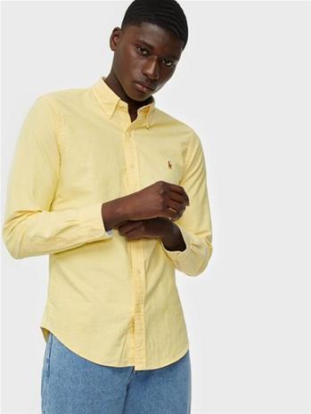 Polo Ralph Lauren Slim Fit Oxford Shirt Kauluspaidat Yellow