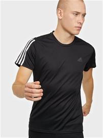 Adidas Sport Performance Run It Tee 3S M Treeni t-paidat Black/White