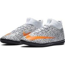 Nike Mercurial Superfly 7 Academy IC CR7 Safari - Valkoinen/Oranssi/Musta Lapset LIMITED EDITION
