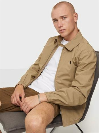 Polo Ralph Lauren Poplin Cotton Jacket Takit Tan