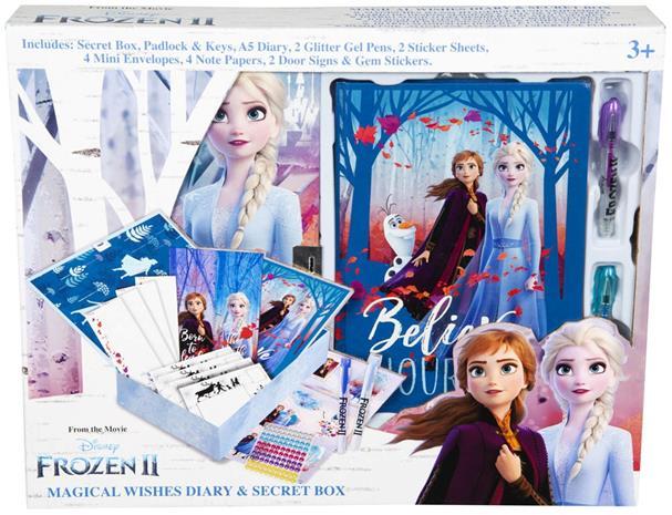 Disney Frozen 2 Päiväkirja & Salainen Laatikko