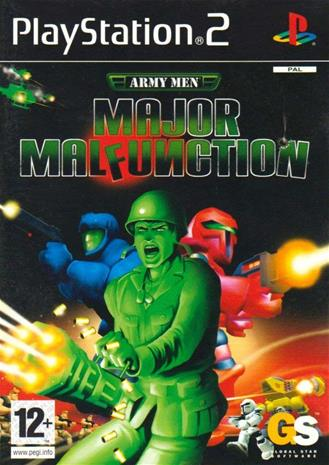 Army Men: Major Malfunction, PS2 -peli