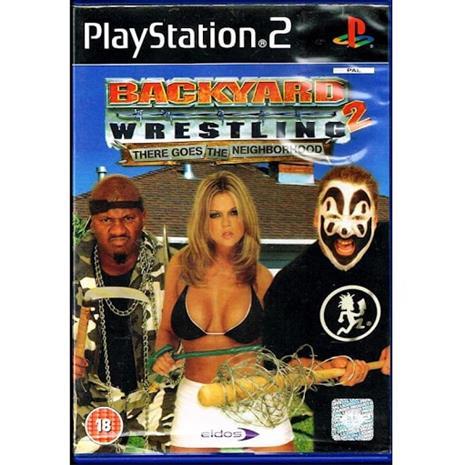 Backyard Wrestling 2: There Goes the Neighborhood, PS2 -peli
