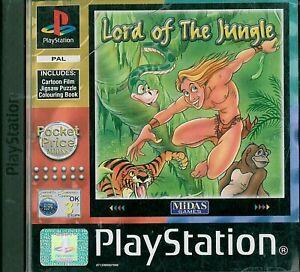 Lord of the Jungle, PS1 -peli