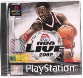 NBA Live 2002, PS1 -peli