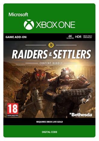 Fallout 76 - Raiders & Settlers Content Bundle, Xbox One -peli