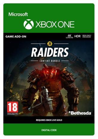 Fallout 76 - Raiders Content Bundle, Xbox One -peli