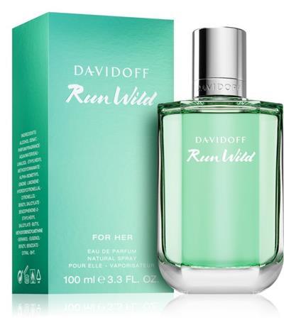 Davidoff Run Wild For Her EDP naiselle 100 ml