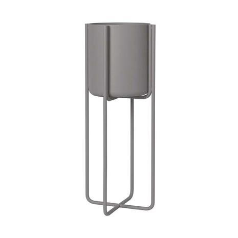 Blomus Kena jalallinen ruukku S 55 cm Steel gray (tummanharmaa)