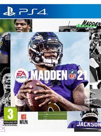 Madden NFL 21, PS4 -peli