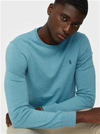 Polo Ralph Lauren Long Sleeve Sweater Puserot Blue Clarity
