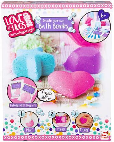 XOXO Tee-se-Itse Bath Bomb