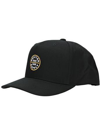 Brixton Oath 110 MP Snapback Cap black / gold