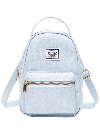 Herschel Nova Crossbody Backpack ballad blue pastel crossh