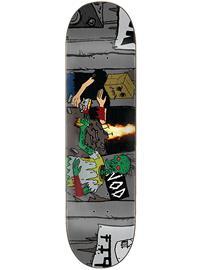 """Creature Hitz Larb Vs Bagman 8.8"""""""" Skateboard Deck grey"""