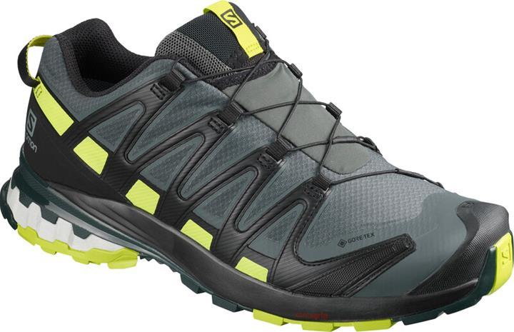 Salomon XA Pro 3D v8 GTX Shoes Men, urban chic/black/lime punch