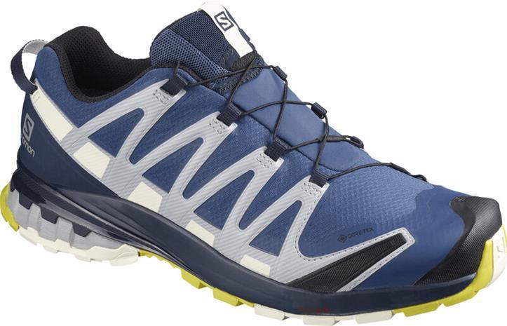 Salomon XA Pro 3D v8 GTX Shoes Men, dark denim/navy blazer/vanilla ice