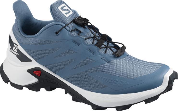 Salomon Supercross Blast Shoes Women, copen blue/white/ebony