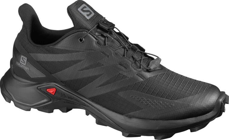 Salomon Supercross Blast Shoes Men, black/black/black