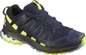 Salomon XA Pro 3D v8 Shoes Men, navy blazer/beluga/lime punch
