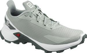 Salomon Alphacross Blast Shoes Women, aqua gray/white/balsam green