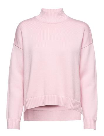 Ganni Wool Knit Neulepaita Vaaleanpunainen Ganni CHERRY BLOSSOM