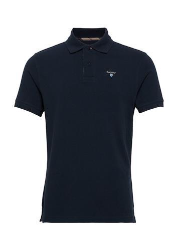 Barbour Barbour Tartan Pique Polo Polos Short-sleeved Sininen Barbour NEW NAVY