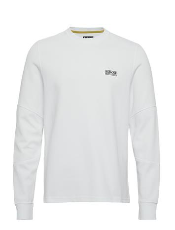 Barbour B.Intl Decal L/S Tee T-shirts Long-sleeved Valkoinen Barbour WHITE