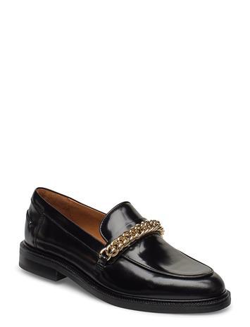 Billi Bi Shoes 4710 Loaferit Matalat Kengät Musta Billi Bi BLACK POLIDO/GOLD 900