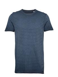 Marc O'Polo T-Shirts Short Sleeve T-shirts Short-sleeved Sininen Marc O'Polo TOTAL ECLIPSE