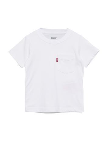 Levi's Sunset Pocket Tee T-shirts Short-sleeved Valkoinen Levi's WHITE