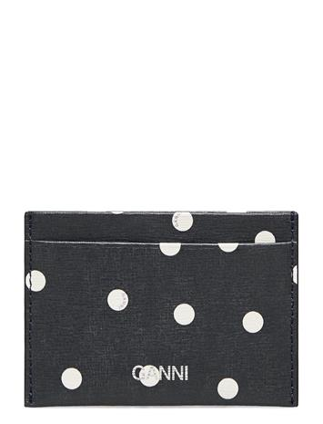 Ganni Card Holder Leather Bags Card Holders & Wallets Card Holder Sininen Ganni SKY CAPTAIN