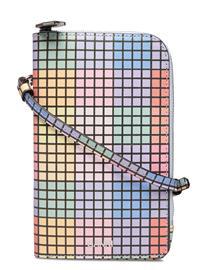 Ganni Ph Bag Leather Bags Small Shoulder Bags - Crossbody Bags Monivärinen/Kuvioitu Ganni MULTICOLOUR