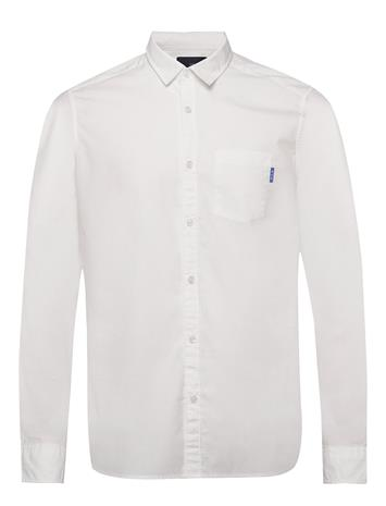 Scotch & Soda Light Weight Long Sleeve Shirt Paita Bisnes Valkoinen Scotch & Soda OFF WHITE