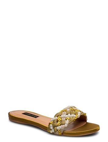 STINE GOYA Alaia, 888 Alaia Sandal Shoes Summer Shoes Flat Sandals Kulta STINE GOYA GOLD
