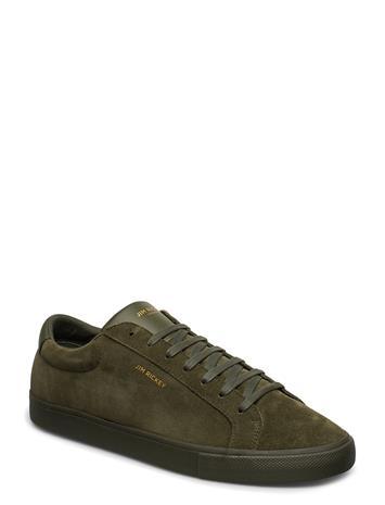 Jim Rickey Chop - Suede/Pu Matalavartiset Sneakerit Tennarit Vihreä Jim Rickey MOSS MONO
