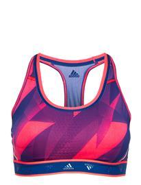 adidas Performance Drst Ask Q1 Bra Lingerie Bras & Tops Sports Bras - ALL Adidas Performance SIGPNK/ROYBLU