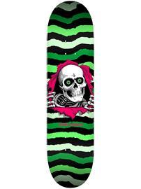 "Powell Peralta Ripper Popsicle 8.75"""" Skateboard Deck green / lightgreen"
