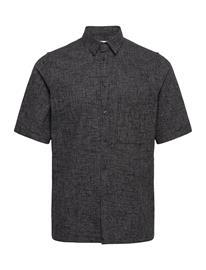 Samsä¸e Samsä¸e Taro No Shirt 11529 Lyhythihainen Paita Musta Samsä¸e Samsä¸e BLACK MEL.